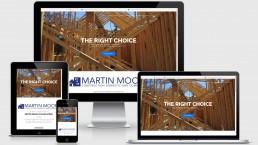 Web Design Ashford Kent | Martin Moore Construction