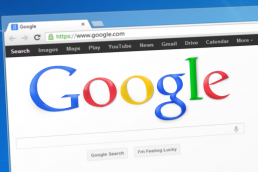 Google Search Engine Window