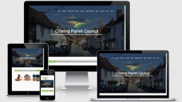 1920 x 1080 | Web Design Ashford Kent | Charing Parish Council