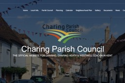 charing-parish-council-ashford-kent-web-design