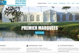 premier-marquees-ashford-kent-web-design